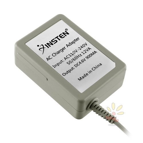 Everydaysource compatible with Nintendo 2DS/ 3DS/ 3DS XL/ DSi/ DSi XL/ Nintendo New 3DS XL Gray Travel Charger