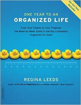 Organized for Good: Regina Leeds: 9781600940569: Amazon.com: Books