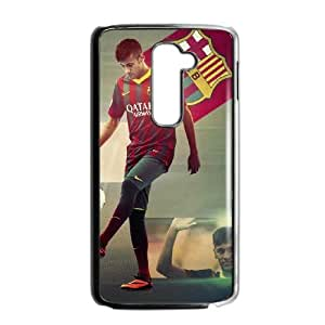 LG G2 Phone Case Black Of Neymar L9CW