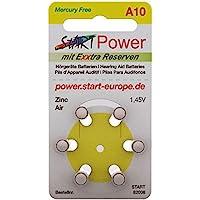 StartPower–Pilas para audífonos (Tipo A10–1.45V–100mAh–PR70.