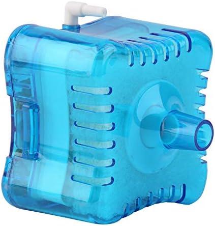 ZengBuks Filtro a Carbone Attivo biochimico Eccellente Pneumatico di plastica Blu del carro Armato di Acquario Durevole di plastica Blu//Filtro Biologico 10-60cm dellAcqua