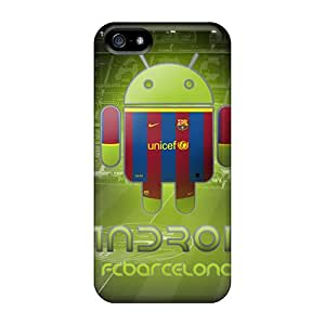 Hot YZK15324XdDb Fcb Droid Cases Covers Compatible With Iphone 5/5s