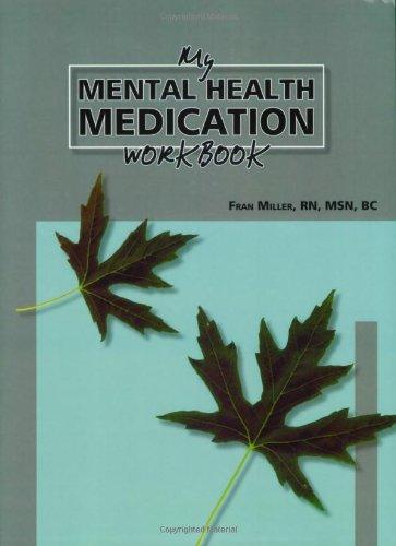 My Mental Health Medications Workbook