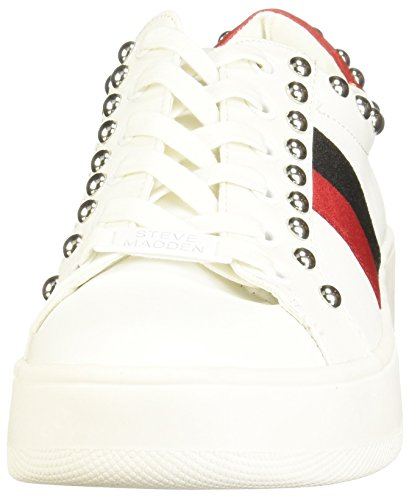 Multi Bianco Steve Sneaker Belle Madden White ZawwqxPCp