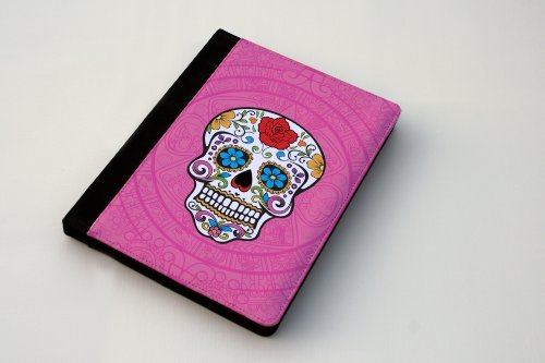 Price comparison product image Hot Pink Mexican Sugar Skull iPad 2 / 3 / 4 Case By Little Brick Press