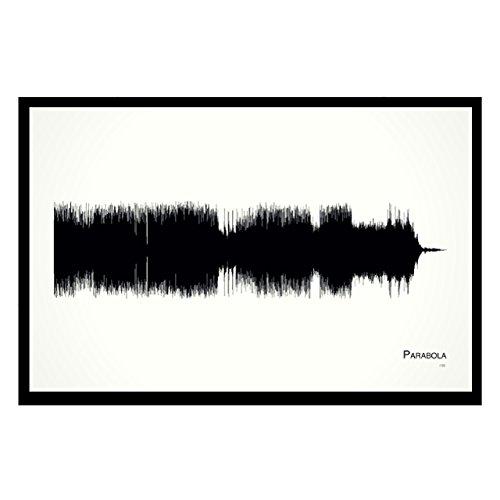 (Parabola - 11x17 Framed Soundwave print)