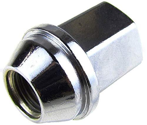 Dorman 611-011 Wheel Nut M14-1.50 for Select Models, Chrome (Pack of 10)