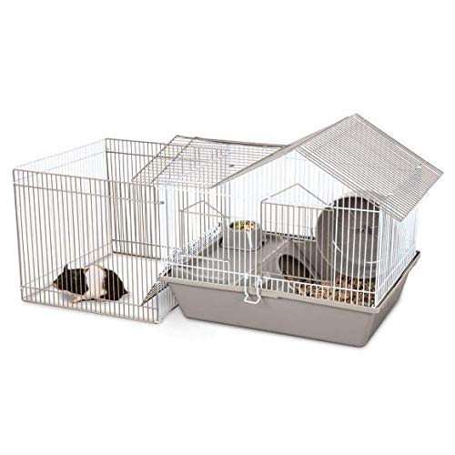 uble Roof Hamster Home with Play Pen Hamster, Dwarfs, Gerbils ()