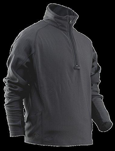 UPC 690104398921, TRU-SPEC Men's 24-7 Series Zip Thru Grid Fleece Pullover, Grey, Large