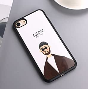 Movie Leon Mirror Surface Silicon Case For iPhone X