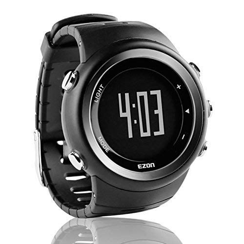 (EZON Sports Watch with Big Number Pedometer Calorie Counter Running Digital Wristwatch for Men T023B01)