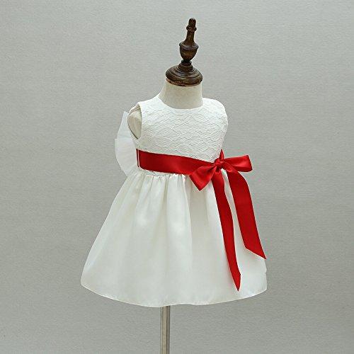 niña niña vestido niña de de de flor de ZAMME Vestido bautizos bautizo de xvSwqR8I