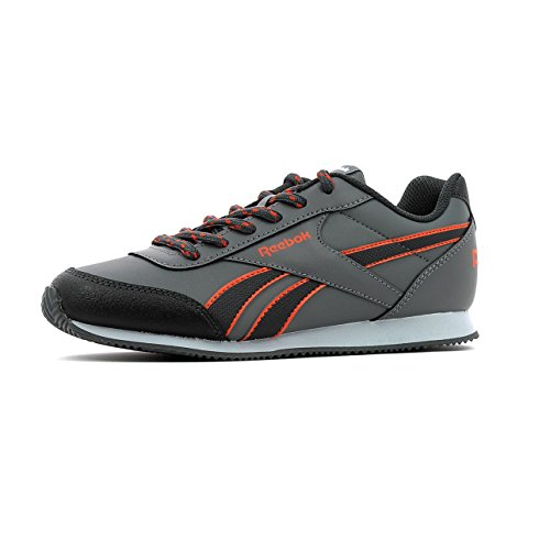 Reebok Unisex-Kinder Royal Cljog 2rs Turnschuhe grau (Alloy / Coal / Energy Orange / Cloud Grey)