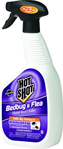 Hot Shot Bedbug & Flea Home Insect Killer (Ready-to-Use), 32-oz