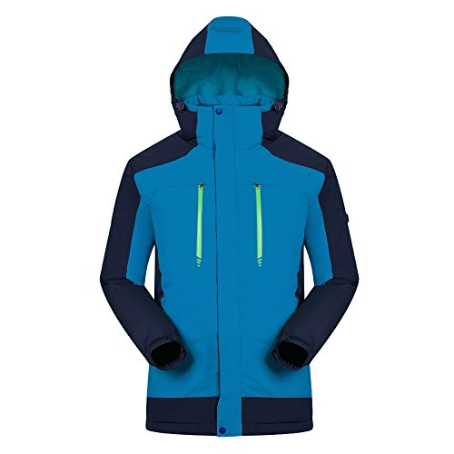 Shell Usb (redder Heated Jacket For Man, Heated Winter Coat With USB Charged Hard Shell Hooded Windbreaker Outdoors Sports Waterproof Jacket)