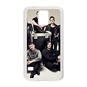 Samsung Galaxy S5 Cell Phone Case Covers White The Blackout MSU7165149