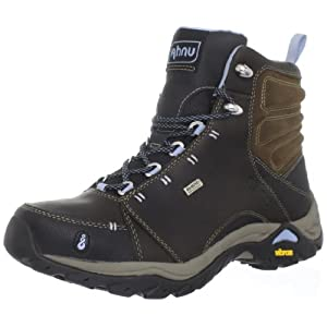 Ahnu Women's Montara Boot Hiking Boot,Smokey Brown,7.5 M US
