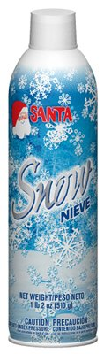 18 Ounce White Spray Snow  -- Case of 12 by Chase (Image #2)