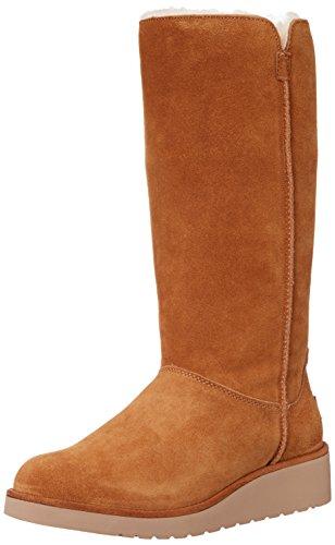 Chestnut Koolaburra Boots (Koolaburra by UGG Women's Classic Slim Tall Winter Boot, Chestnut, 7 M US)