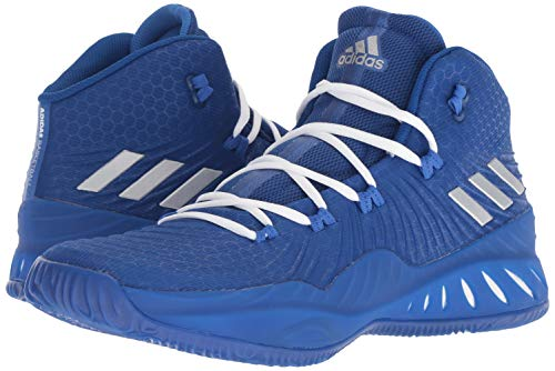 adidas Men's Crazy Explosive 2017 Royal/Silver/Blue 11.5 D US
