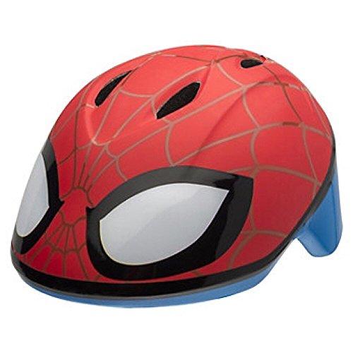 Marvel Spiderman Toddler Skate / Bike Helmet Pads & Gloves - 7 Piece Set by Marvel (Image #1)