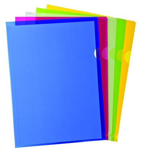 Pendaflex Copy Safe Project Pockets, Letter Size, Assorted Colors, 10 per Pack (53296EE)