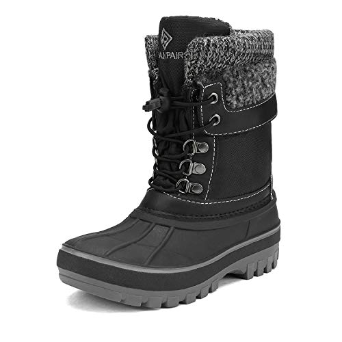 DREAM PAIRS Boys Girls Insulated Waterproof Winter Snow Boots