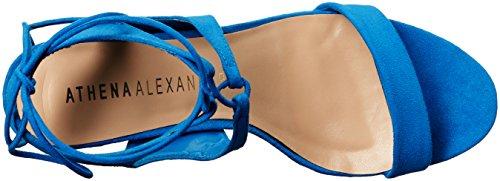 Athena Alexander Women's Shalamar Dress Sandal Blue Suede tj9ZBMg