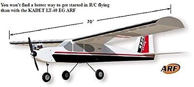 SIG KADET LT-40 KIT Model Airplane Unassembled Kit Die Cut Parts Easy Build R/C Aircraft