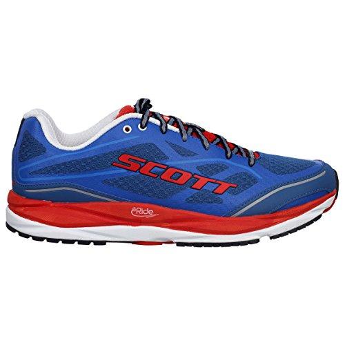 Zapatos Scott Running Palani Support BLU-ROSSO