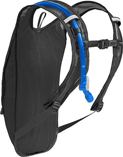 CamelBak HydroBak Crux Reservoir Hydration Pack, Black/Graphite, 1.5 L/50 oz