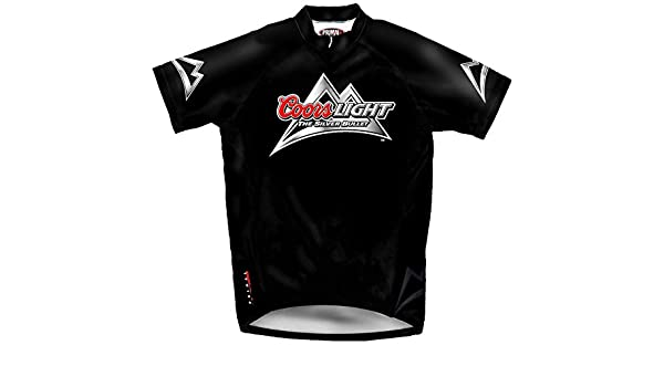 Amazon.com   Primal Wear Coors Light Beer Cycling Jersey Men s Medium Short  Sleeve The Silver Bullet   Sports   Outdoors ed1da3d6a