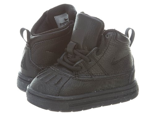 - Nike Woodside Toddlers Style Shoes 415080, Black/Black, 4