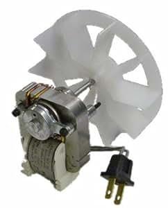 Nutone 97012041 Broan Replacement Vent Fan Motor & Blower Wheel, 9 Amp/120V