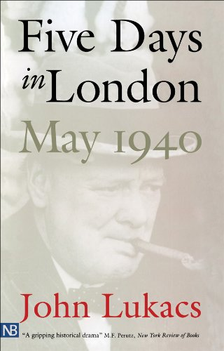 Five Days in London, May 1940 cover