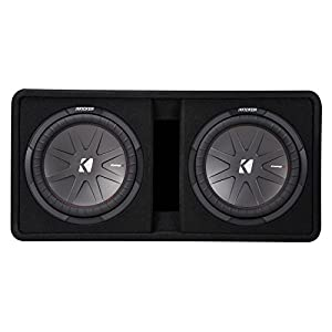 Kicker Dual 43DCWR122 12-Inch 2000W Loaded Subwoofer Enclosure