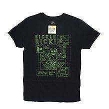 Funko Pop! Tees Morty - Pickle Rick Blueprint,