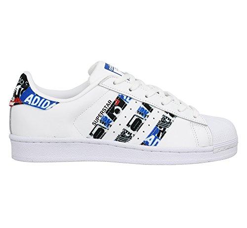 Ftwbla Corsa da Bianco Scarpe Azul Uomo Negbas Superstar adidas wqYTxHzz