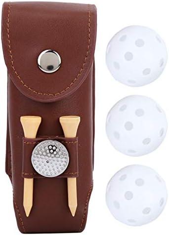 Golf Belt Bag Mini Golf Ball Pouch voor golfliefhebbers met Ball Tee