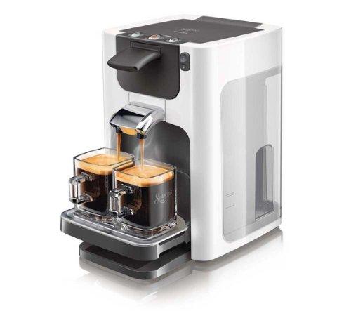 PHILIPS Cafetera Senseo Quadrante HD7864/11 - blanco: Amazon ...