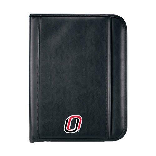 Nebraska Omaha Insight Black Calculator Padfolio 'O'