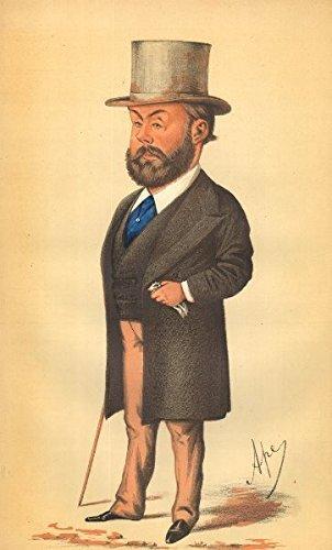 VANITY FAIR SPY CARTOON. Algernon Borthwick 'The Morning Post'. Newspapers. 1871