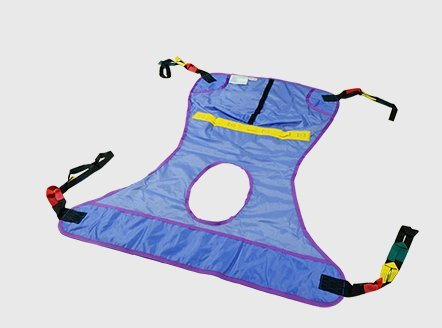 BestSling Disposable Slings Replacement for Invacare SPS - Medium, Best Fits: 100-195 lb, 600lb Weight Capacity - 10 Each / Case - SLRD114