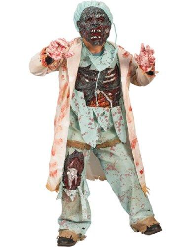 Scary Child Costumes (Zombie Doctor Costume - Medium)