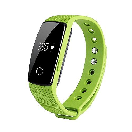 Seetwo Bluetooth 4.0 Smart HRM Bracelet Activity Fitness ...