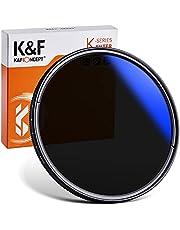 K&F Concept 52mm ND Filter Slim Variable ND2-ND400 Filter Adjustable Fader Neutral Density Slim Waterproof Optical Glass Lens Filter