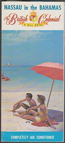 British Colonial Hotel Nassau Bahamas visitor folder 1958