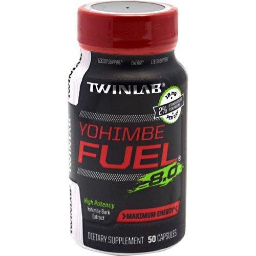 Yohimbe Fuel 8.0 Twinlab, Inc 50 Caps by Twinlab, Inc