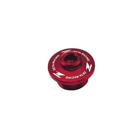 Amazon.com: ZETA Anodized Aluminum RED Oil Filler Plug KX KXF 04-13, KFX 450 08-09: Automotive