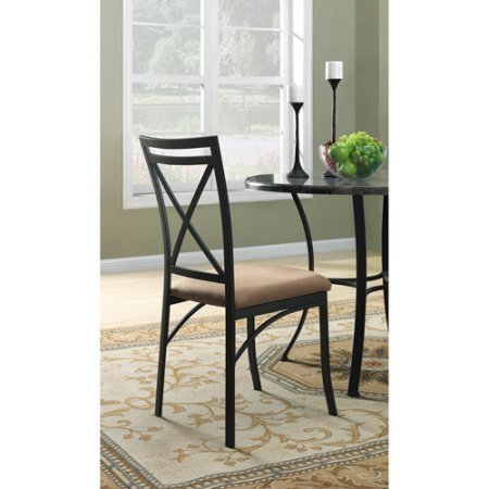 Mainstays 5-Piece Faux Marble Top Dining Set - 2 year warranty